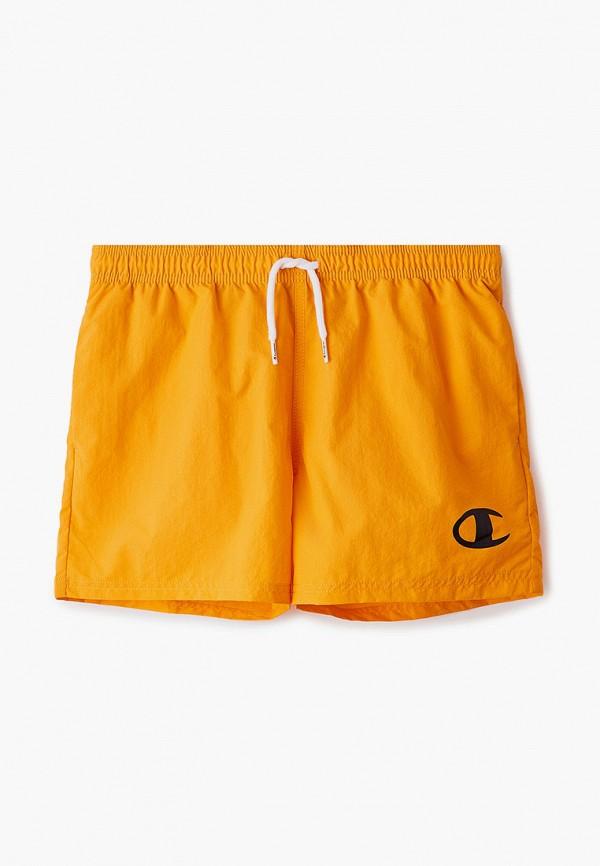 спортивные шорты champion для мальчика, оранжевые