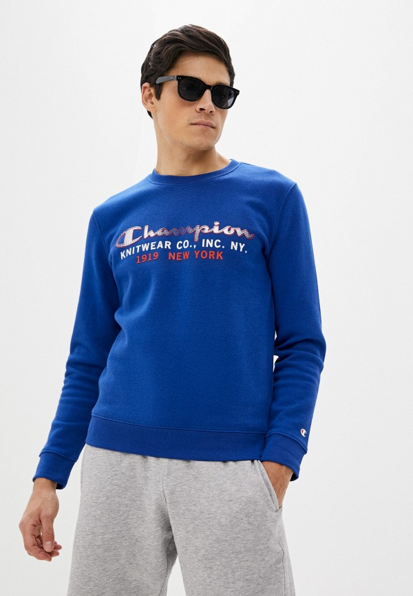 мужской свитшот champion, синий