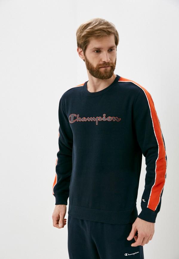 мужской спортивные свитшот champion, синий
