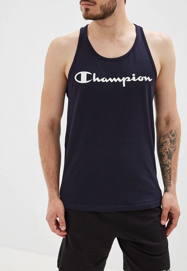 Купить Майку спортивная Champion синего цвета