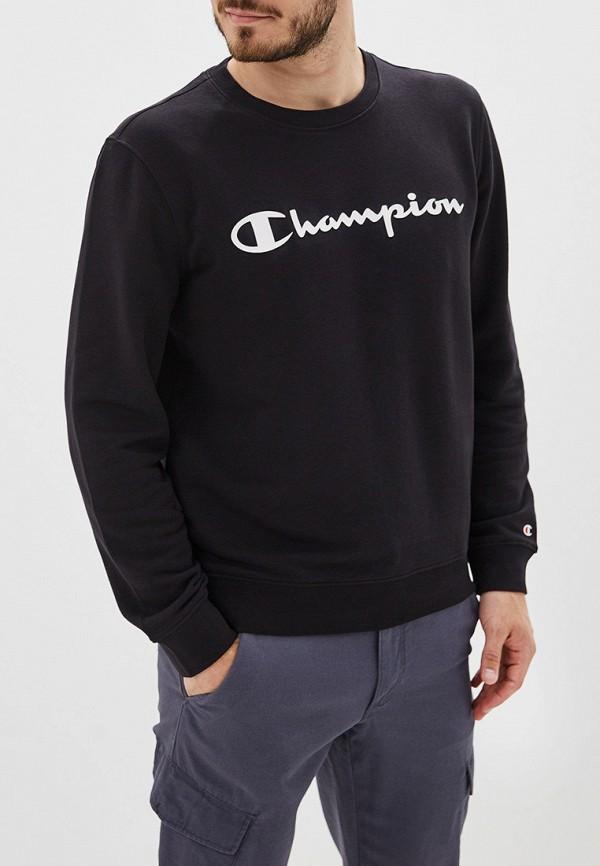 Купить Свитшот Champion черного цвета