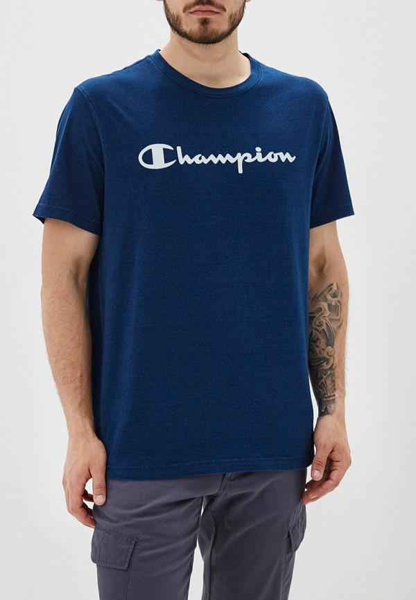 мужская футболка champion, синяя
