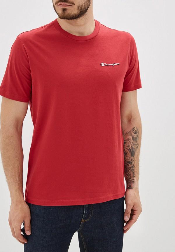 мужская футболка champion, красная