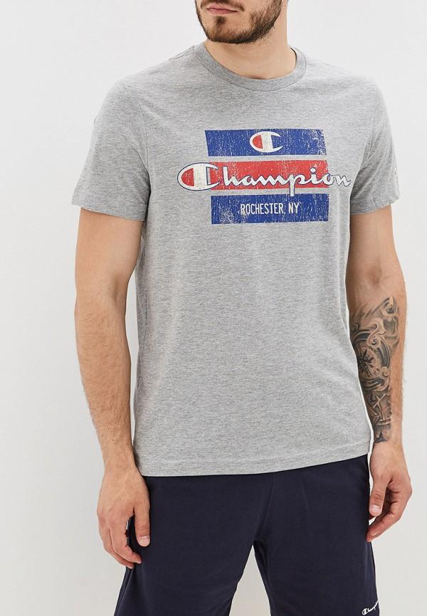 мужская футболка champion, серая