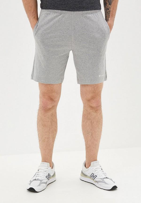 мужские спортивные спортивные шорты champion, серые