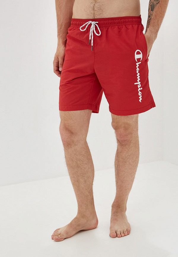мужские спортивные спортивные шорты champion, красные