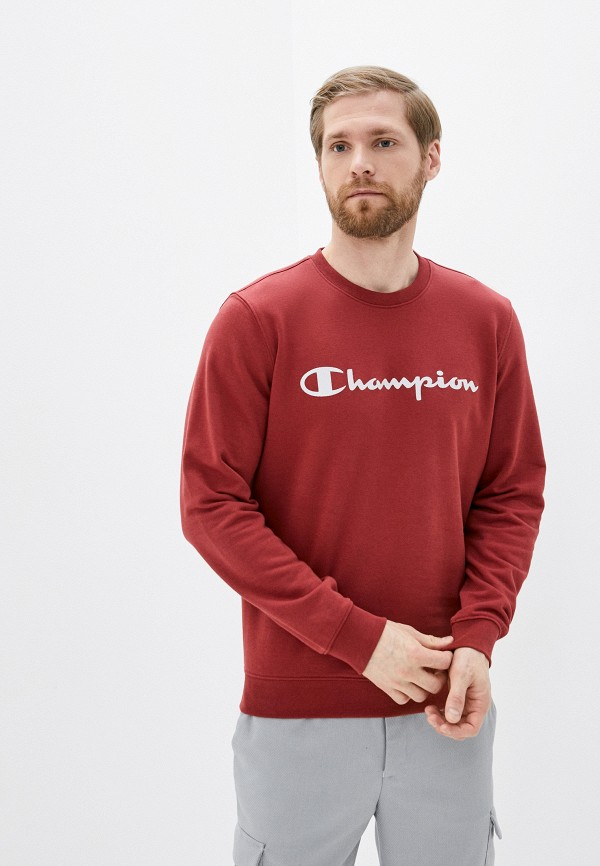 мужской свитшот champion, красный