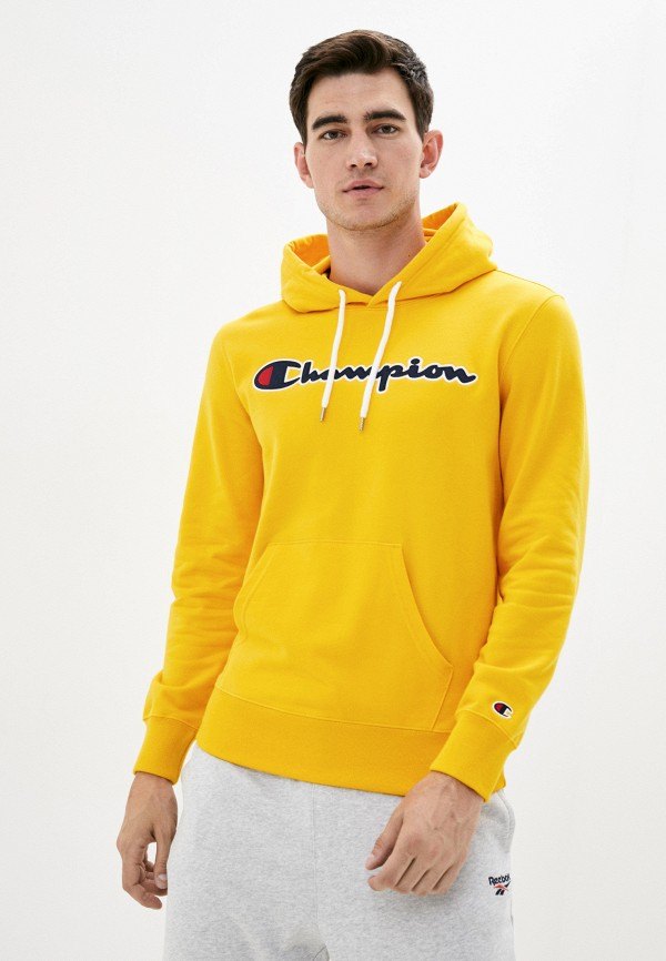 мужские худи champion, желтые