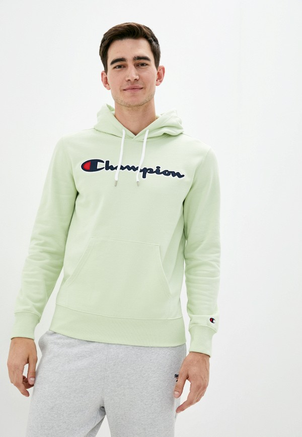 мужские худи champion, зеленые