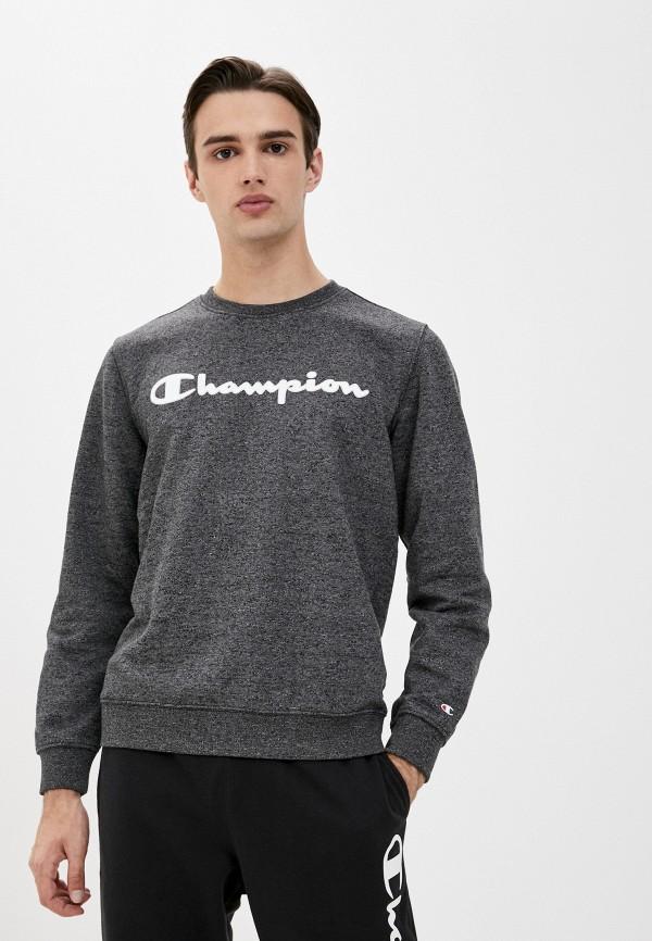 мужской спортивные свитшот champion, серый