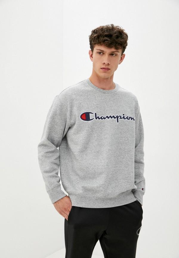 мужской свитшот champion, серый