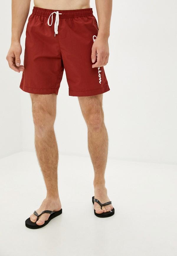мужские спортивные шорты champion, красные