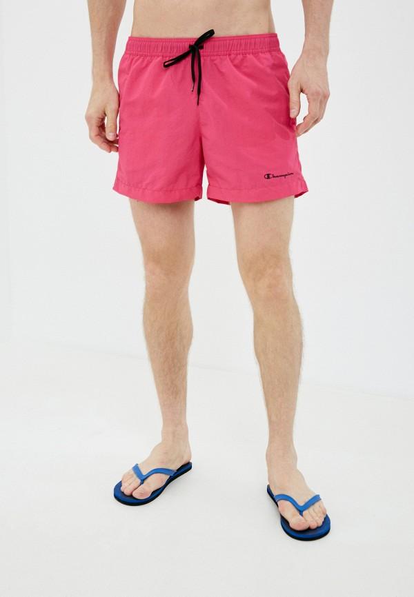 мужские спортивные шорты champion, розовые
