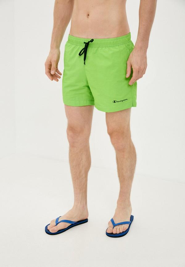 мужские спортивные шорты champion, зеленые