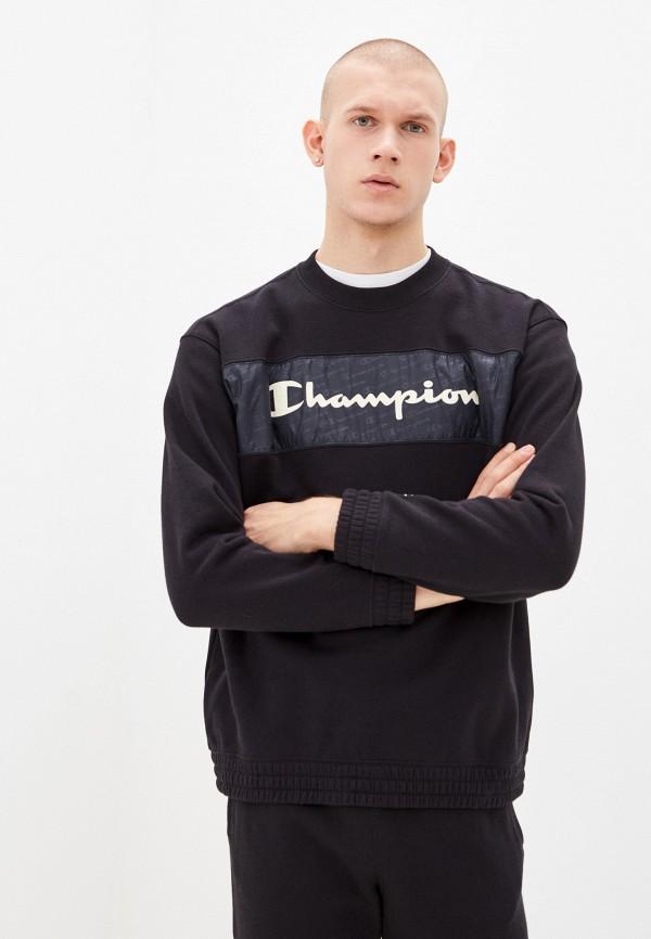 мужской свитшот champion, черный