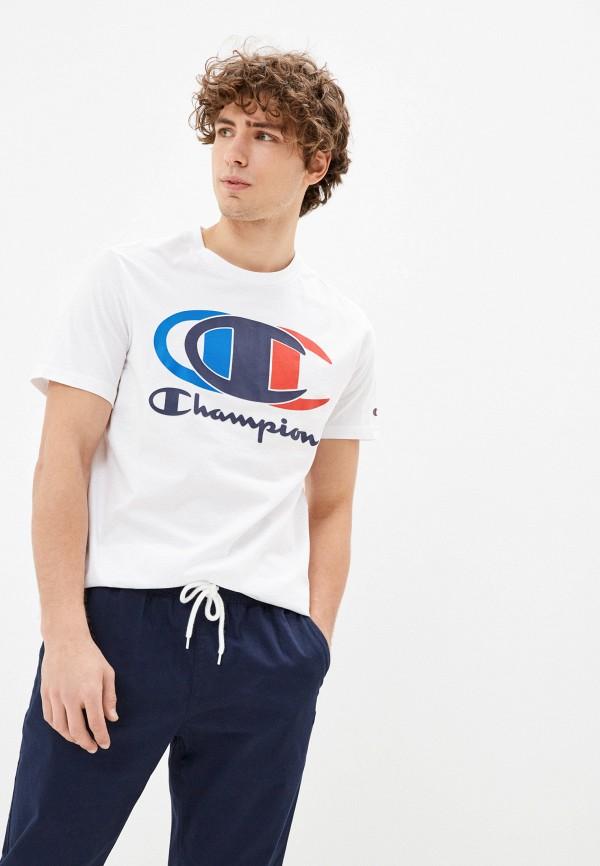 мужская спортивные футболка champion, белая