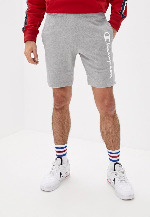 мужские спортивные шорты champion, серые