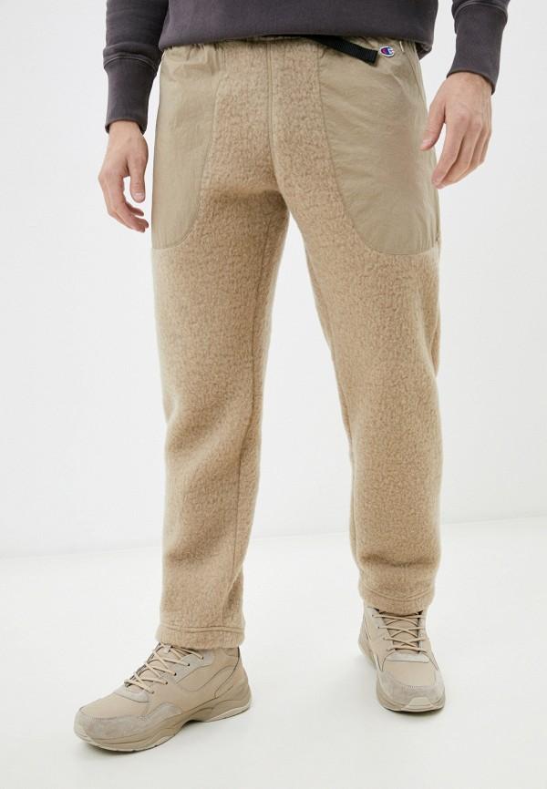 мужские брюки champion, бежевые