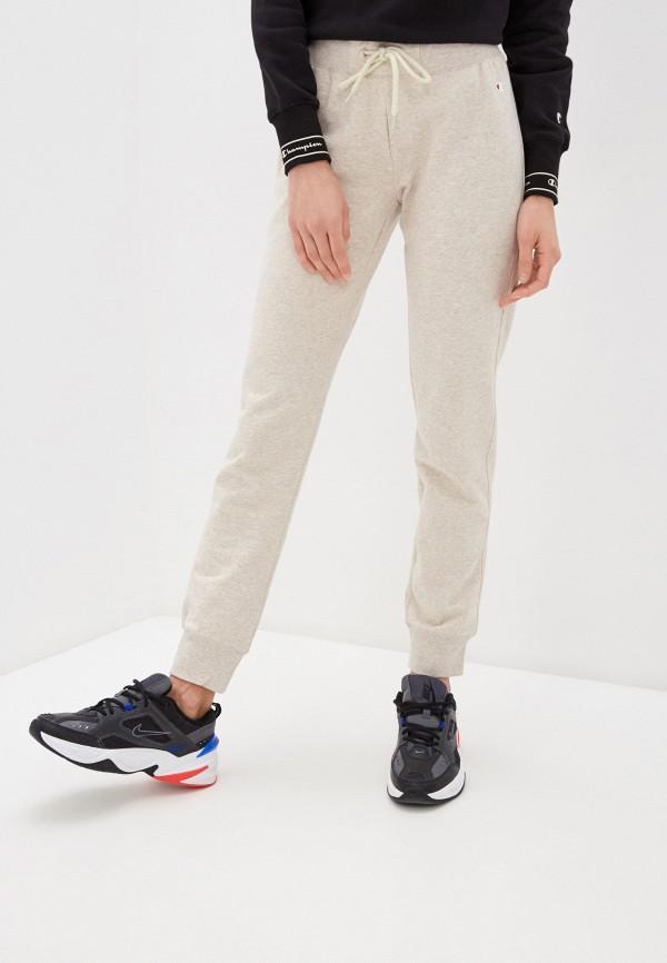 женские спортивные брюки champion, бежевые