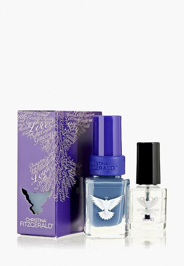 лак для ногтей christina fitzgerald, синий