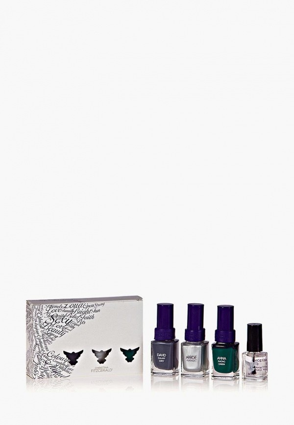 Набор лаков для ногтей Christina Fitzgerald Christina Fitzgerald CH007LWFTT04 christina fitzgerald лак для ногтей цвет ковровой дорожки bond rachel 12 9 мл