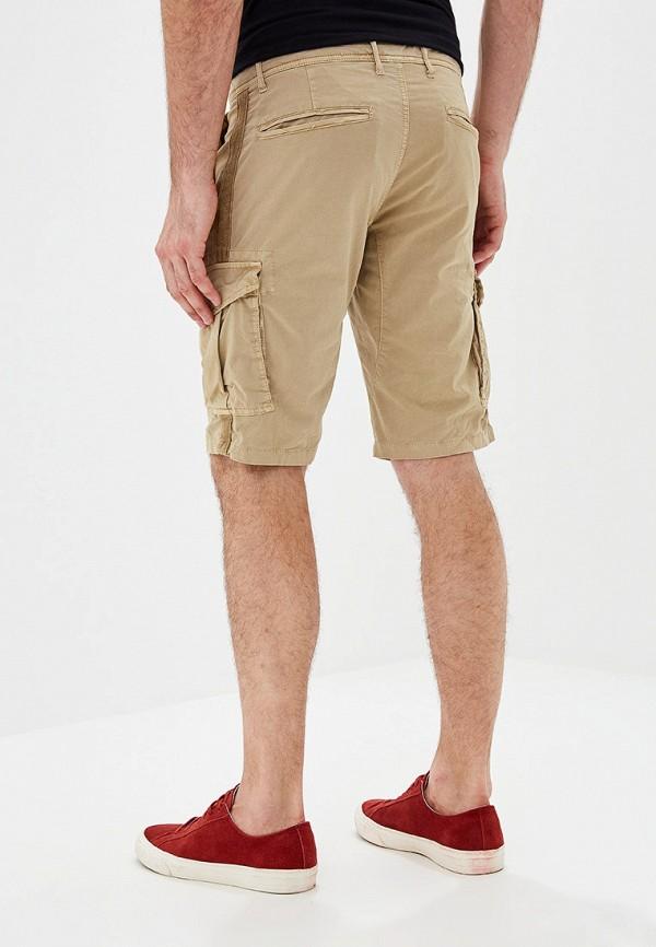 Фото 3 - мужские шорты Chromosome бежевого цвета