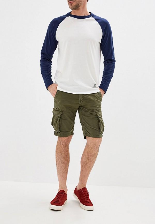 Фото 2 - мужские шорты Chromosome цвета хаки