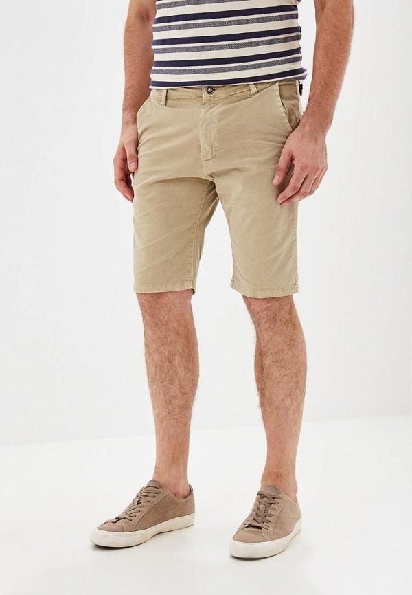 Фото - мужские шорты Chromosome бежевого цвета