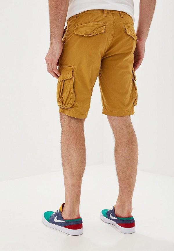 Фото 3 - мужские шорты Chromosome желтого цвета