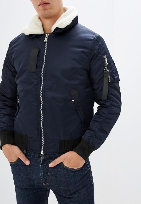 мужская куртка chromosome, синяя