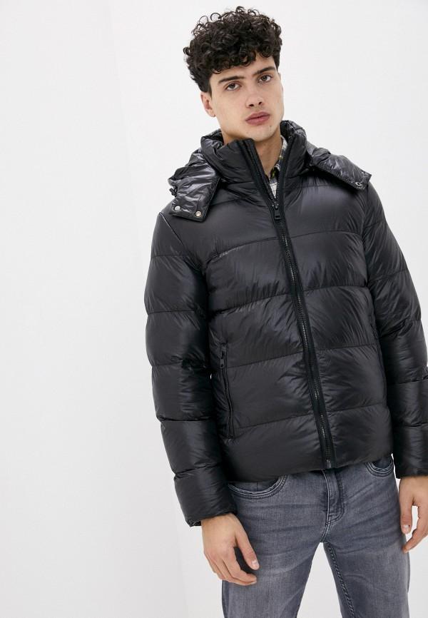 мужская куртка chromosome, черная