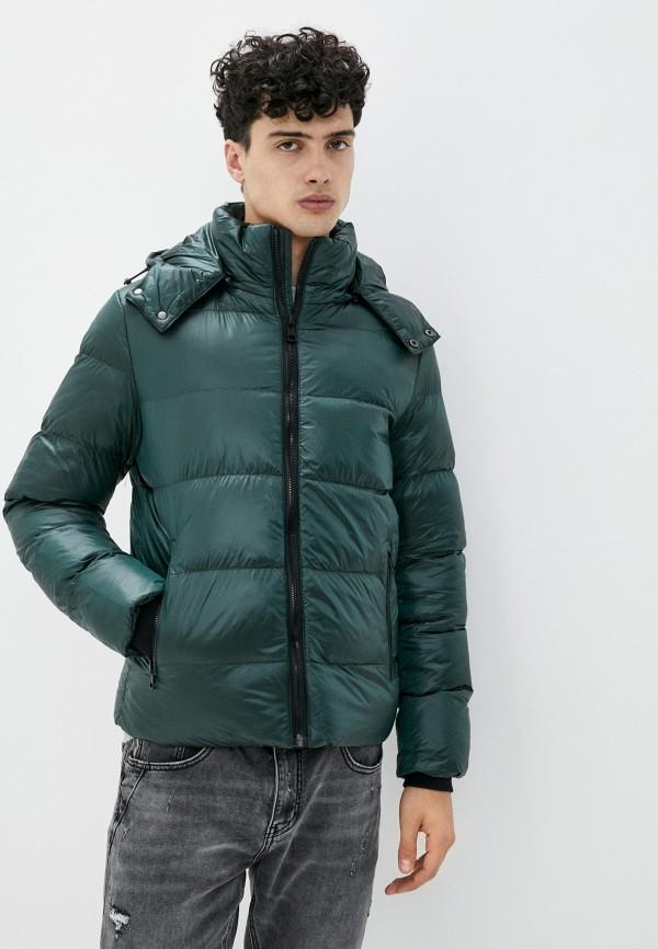 мужская куртка chromosome, зеленая