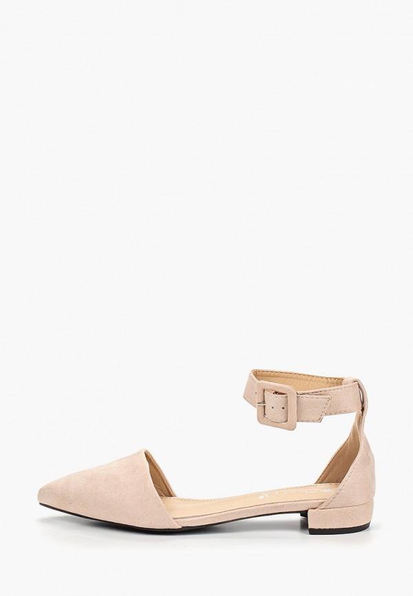 женские туфли chassè, бежевые