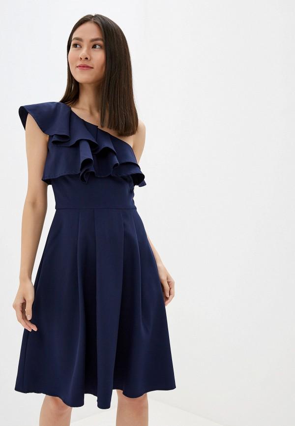 женское платье chi chi london, синее