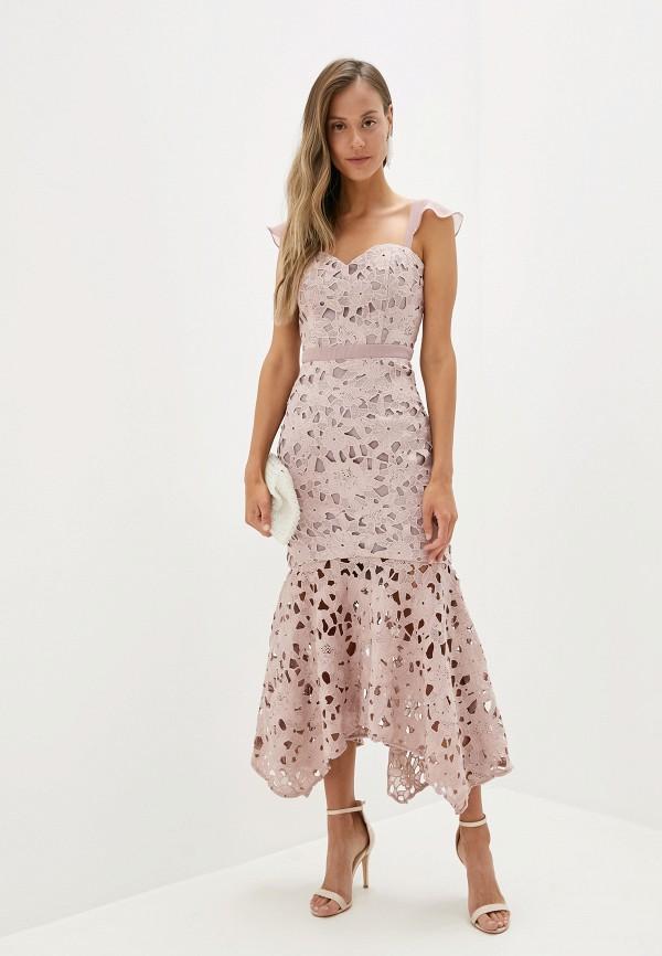 цена Платье Chi Chi London Chi Chi London CH041EWGRNE5 онлайн в 2017 году
