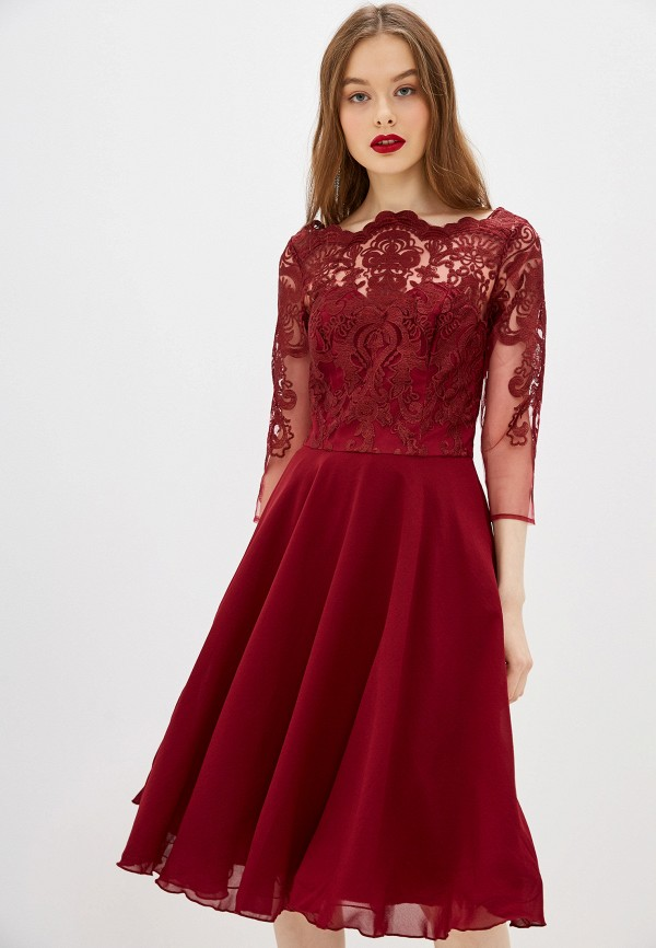 цена Платье Chi Chi London Chi Chi London CH041EWGRNE9 онлайн в 2017 году