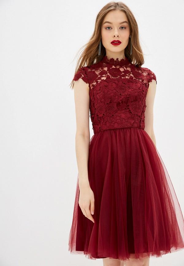 цена Платье Chi Chi London Chi Chi London CH041EWGRNF1 онлайн в 2017 году