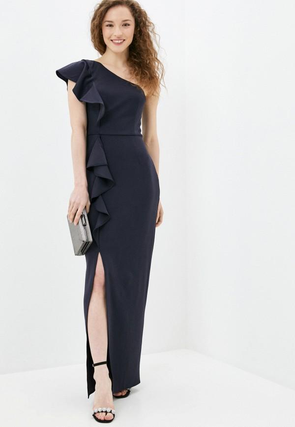 женское вечерние платье chi chi london, черное