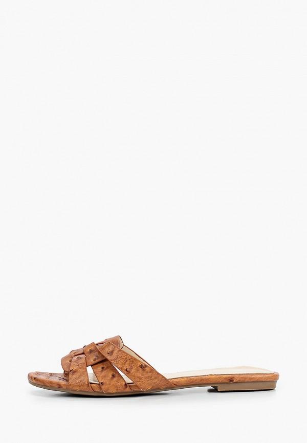 женское сабо chicmuse, коричневое
