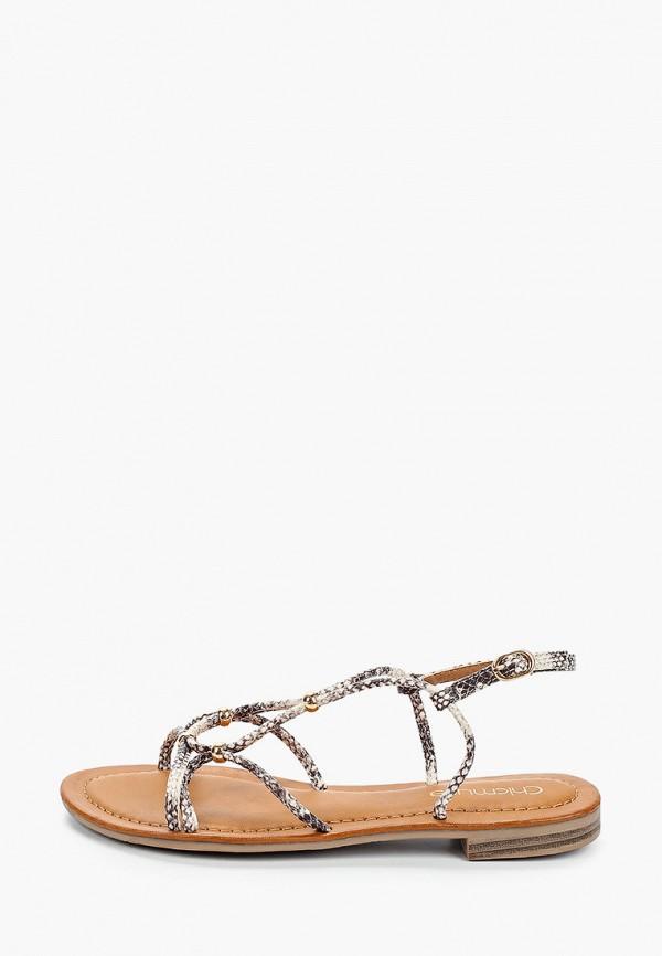 женские сандалии chicmuse, бежевые