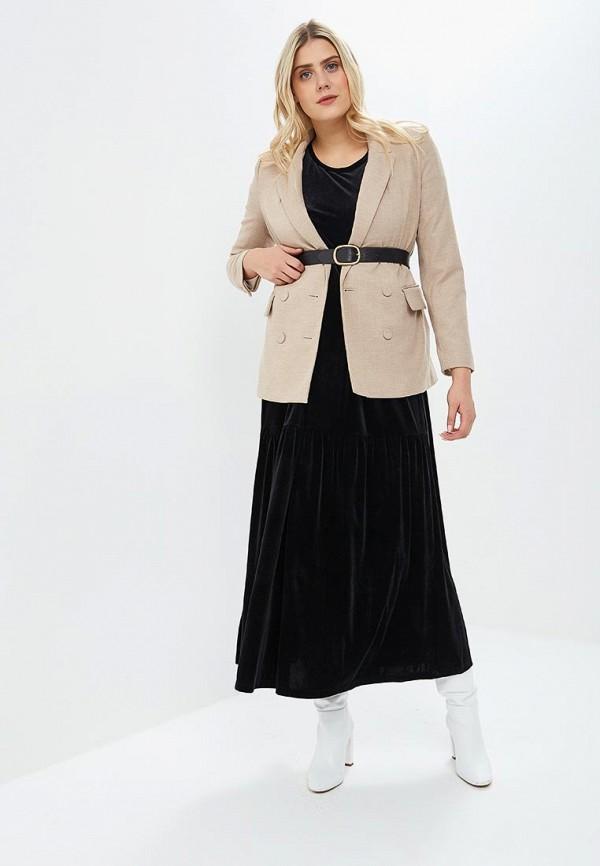 Платье Chic de Femme Chic de Femme CH055EWCMVN4 chic vivid big leaves pattern chiffon scarf for women