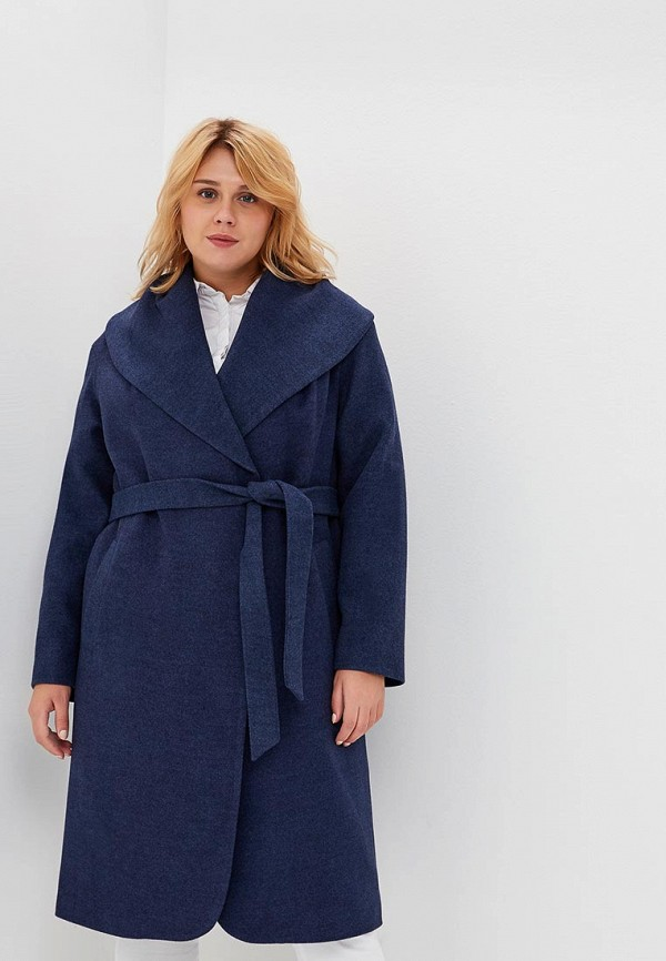 Пальто Chic de Femme Chic de Femme CH055EWCMVR6 chic vivid big leaves pattern chiffon scarf for women