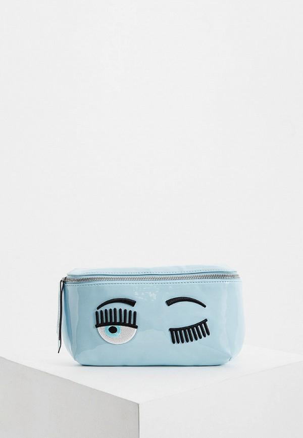 Сумка поясная Chiara Ferragni Collection Chiara Ferragni Collection CH057BWGLWG7 chiara p сумка на плечо