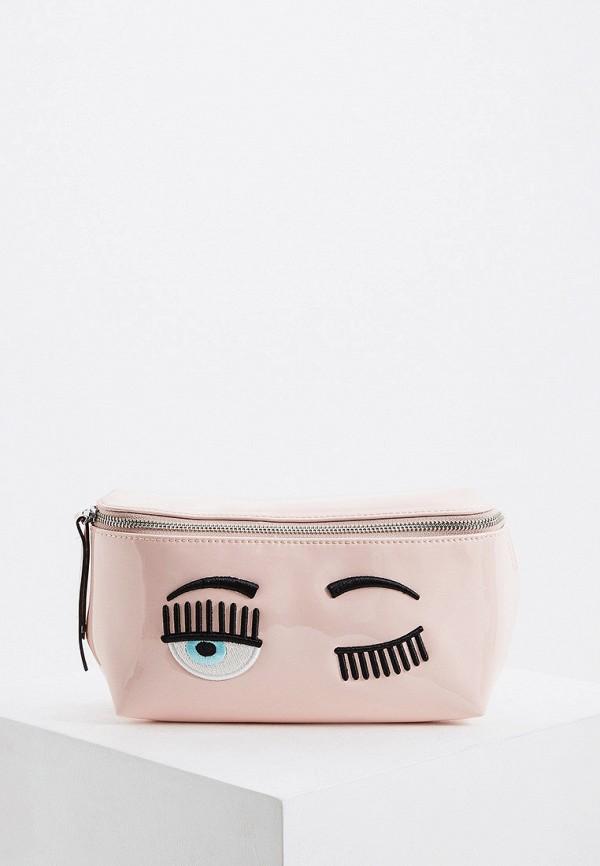 Сумка поясная Chiara Ferragni Collection Chiara Ferragni Collection CH057BWGLWG8 chiara p сумка на плечо