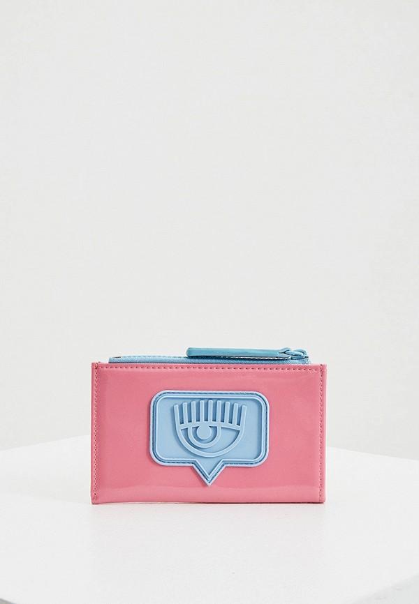 женский кошелёк chiara ferragni collection, розовый