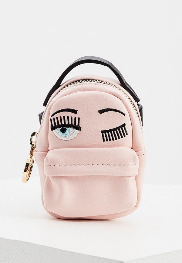 женский рюкзак chiara ferragni collection, розовый