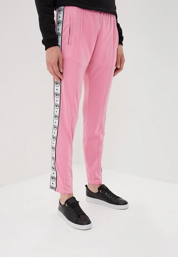 женские спортивные спортивные брюки chiara ferragni collection, розовые