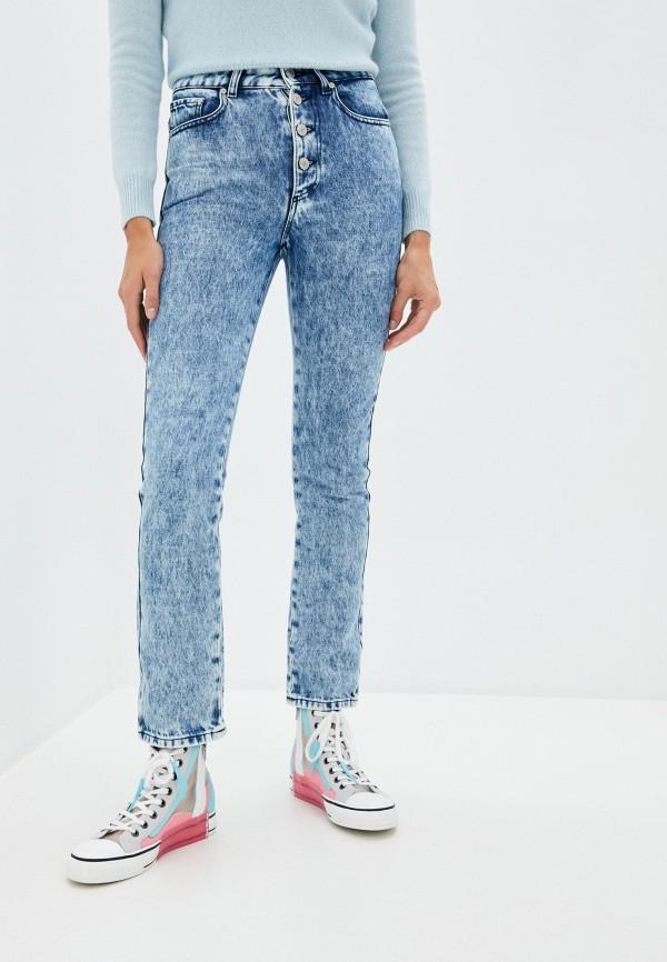 женские джинсы chiara ferragni collection, синие