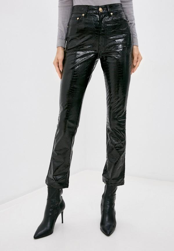 женские брюки chiara ferragni collection, черные