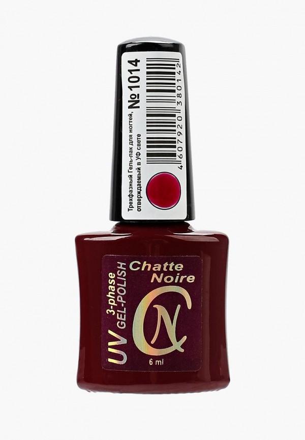 женский лак для ногтей chatte noire, красный
